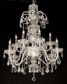 Learn trade secrets restoring old antique brass chandeliers swarovski crystal trimmed chandelier authentic all crystal chandelier w swarovski crystal chandeliers h30 x w28 a46 clear59012sw aloadofball Images