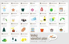 Plán, který vám usnadní přípravu na Vánoce 2014, den za dnem.