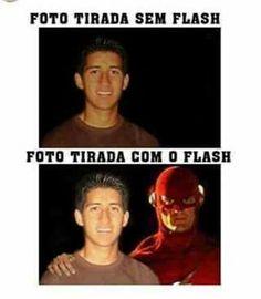 Barry Allen está presente