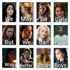 These girls change our minds, our things and our lives … It is impossible to forget … – girl power Girl Power Quotes, Girl Quotes, Book Memes, Book Quotes, Hunger Games, Image Triste, Gina Weasley, Citations Film, Fandom Quotes