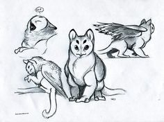 pink griffins gryphons griffin - Google Search