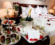 decoracion para noche romantica habitacion