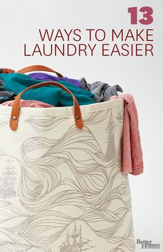 Spend less time doing laundry with these easy tips: http://www.bhg.com/rooms/laundry-room/makeovers/make-laundry-day-easier/?socsrc=bhgpin032114laundrytips