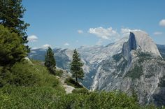 Half Dome at Yosemitie... One of the places I have been but loved it so much, can't wait to return.