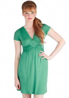 c5f7d0ab48 Glam of Green Gables Dress in Emerald. Like passages from a beloved work of  literature