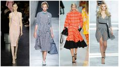 plaid dress Spring-Summer 2015