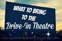 Ten Tips for a Groovy Drive-In Movie Night - Suitcases and Sippy Cups Drive Thru Movie Theater, Drive In Movie Tips, Drive Inn Movies, At Home Movie Theater, Movie Hacks, Movie Ideas, Car Life Hacks, Sweet Night, Family Movie Night