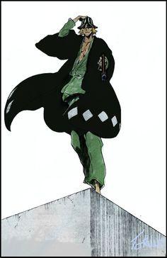 urahara Bleach Ichigo Bankai, Manga Bleach, Bleach Drawing, Bleach Fanart, Manga Drawing, Kuchiki Rukia, Shinigami, Bleach Characters, Anime Characters