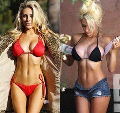 PHOTOS Courtney Stodden before and after breast implants, surgery Courtney Stodden, Sexy Bikini, Bikini Girls, Celebrity Big Brother, Celebrity Bikini, Bikini Pictures, Plastic Surgery, String Bikinis, Sexy Women