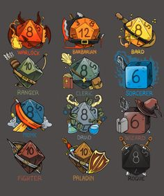 Dice Role from Qwertee Dungeons And Dragons Memes, Dungeons And Dragons Homebrew, Dnd Characters, Fantasy Characters, Fantasy Character Design, Character Concept, Dnd Classes, Dnd Funny, Dragon Memes