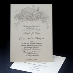 Beautiful Birds wedding invitation sample by CarlinCardCreations, $3.50
