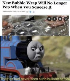 See more 'Thomas Had Never Seen Such Bullshit Before' images on Know Your Meme! Really Funny Memes, Stupid Funny Memes, Funny Relatable Memes, Funny Posts, Funny Stuff, Best Memes, Dankest Memes, Edgy Memes, Funny Cute