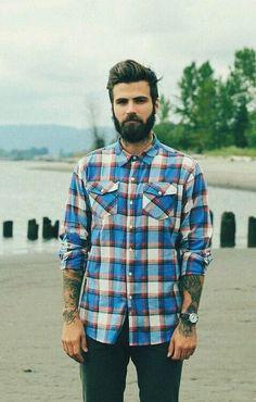бородач Fashion Men BEARD AND TATTOOS Tattoos Mensfashion Beards Street Fashion Fashion Beard Bearded