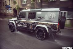 #LandRover Defender by #Twisted : St Petersburg to Riga #Gumball3000