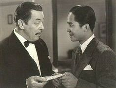 Warner Oland and Keye Luke had a great love and admiration for one aother