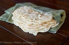 Another flour tortilla recipe. Looks even better than the last one. Made with oil and baking powder added