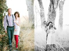 Hair and Make-up by Steph: Be Mine // love the red tights w/white dress