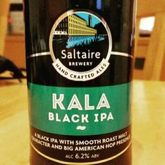 Rich bitterness. Very nice. - Drinking a Kala Black IPA by Saltaire Brewery