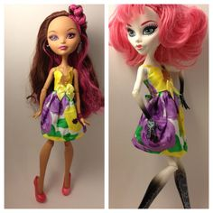 Complementary Petals  Monster High Ever After High by MoreMeKnow, $10.00