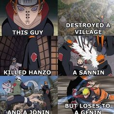 Well, to be fair, that genin was Naruato so he was screwed right from the start...