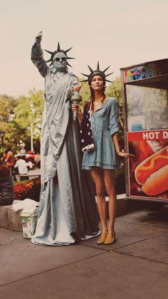 Free People January 2012 campaign Model: Karlie Kloss Photographer: Guy Aroch