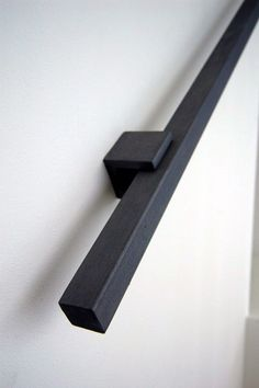 Square tubing makes a nice handrail.: