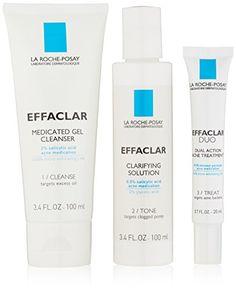 La Roche Posay Effaclar 3 Step System, 0.7 Ounce La Roche-Posay $20  http://www.amazon.com/dp/B00JGX9C6A/ref=cm_sw_r_pi_dp_1Iyhwb0NF7X57