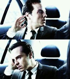 Andrew Scott....moriarty's bored, thats why he's bringing sexy back xmas 2014 :)
