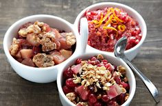 Creative cranberry sauces