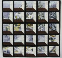 Shadow Box Quilt - very nice 3-D look