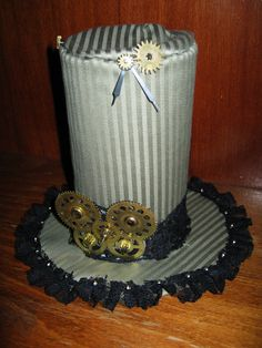 steampunk hat - candle