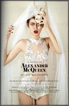 16. Relating to my dream job-- Alexander McQueen: an inspiration to all fellow fashion design artists #modcloth #makeitwork
