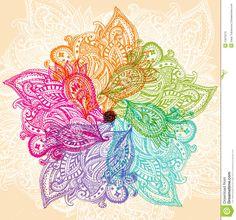 Colorful mandala Stock Photos