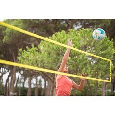 7fb6206693337 Filet de volley et beach-volley BV100 WIZ NET jaune COPAYA. GROUPE 7 SPORTS  COLLECTIFS ...