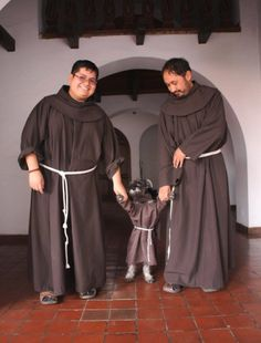 Little Dog Is Welcomed As Monastery's Cutest New Friar