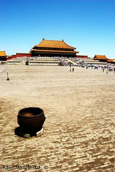 forbidden city, China-good faraway shot. Bucket list checked off April 2009
