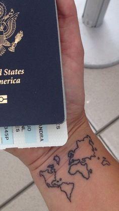 World map outline tattoo wrist iwate kokyo world map outline tattoo wrist tattoo fun world wrist world map outline tattoo gumiabroncs Images