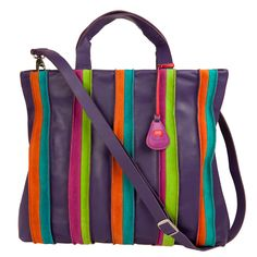 Mywalit Laguna Grab Handle Shopper (purple) - Travelbags.nl
