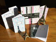 art scrap & more: alexandra's Sunday scrapbooking - COCO style Mini Journals