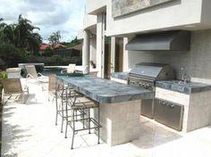 ▷ 1001  Ideen für Außenküche selber bauen - 23 Beispiele für selbstgebaute Gartenküchen!