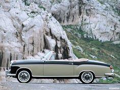 1956 Mercedes 220S Cabriolet