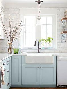 112 best kitchen coloured cabinets images on pinterest in 2019 rh pinterest com