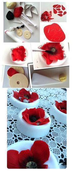 fantasy flower tutorial sugar paste wilton - Google Search