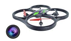 WLtoys V262 Cyclone 4CH 6 Axis 2.4G RC Quadcopter Camera Version RTF $92.99