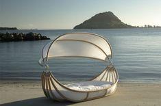 Sail off after a beach wedding =)