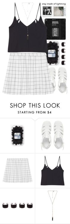 """Untitled #315"" by my-black-wings ❤ liked on Polyvore featuring ASOS, Maison Margiela, Natalie B and Polaroid"