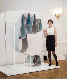 """Die Ausstellung """"From the Floor Up"""" während den Designer's Days in Paris http://www.fabricafeatures.com/2013/from-the-floor-up/"""