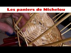 🇬🇧 🇺🇸 Episode 10 : Making a basket, Bird cage and first braid Bic Lighter, Bird Cage, Braids, Basket, Youtube, How To Make, Training, Wicker Baskets, Baskets