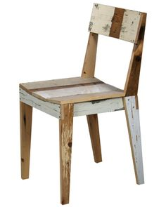Great Chair made from Old Wood. More
