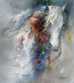 Willem Haenraets. Воздушная живопись. Thoughts